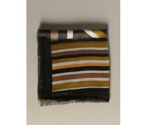 Schal mit Lurex-muster