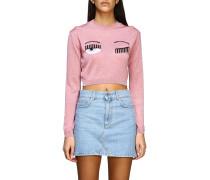 Shirt mit Lurex Flirting Stickerei