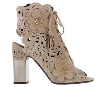 Sandalen mit Absatz Frauen Schuhe