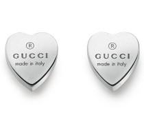 Trademark Heart Ohrringe in Silber 925 mit Gravur