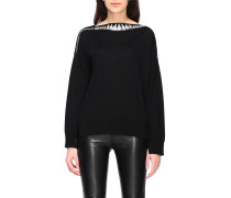 Sweater mit Micro Strass