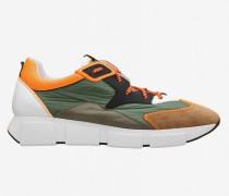Vic Matié Sneakers aus Wildleder und Nylon