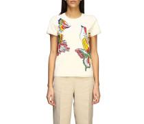 T-shirt mit Schmetterling Aufdruck