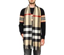 Mega Check Schal aus Kaschmir