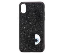 Iphone X / Xs Cover Flirting Glitter Eyes