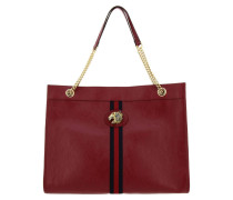 Rajah Tasche Große Shopping Bag aus Leder