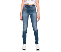 Slim Jeans High Waisted