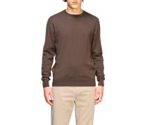 Sweatshirt aus Baumwolle mit Rundhalsausschnitt