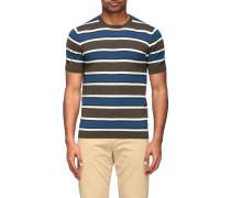 T-Shirt mit Rundhalsausschnitt und Streifen