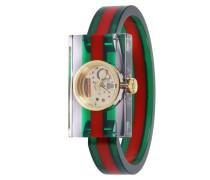 Vintage Uhr Web Uhrengehäuse 24x40 Mm Transparentes Plexiglas