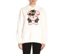 Capsule Collection Pixel Sweatshirt mit Kapuze