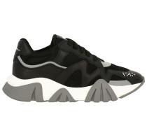 Squalo Sneakers und Gepolstertes Makronetz