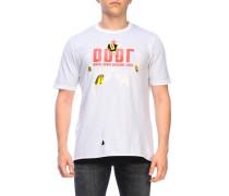 T-shirt mit Maxi-dddl-print