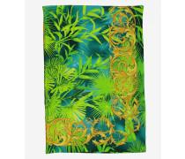 Foulard mit Dschungel Print