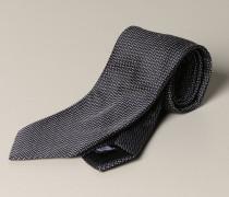 Krawatte aus Mikro Gemusterter Seide