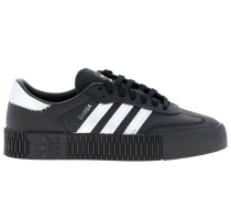 Adidas Samba Originals By Pharrell William Sneakers aus Glattem und Laminiertem Leder