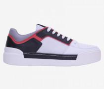 Vic Matié Sneakers aus Leder und Mesh