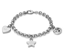 Schmuck Trademark Charms Armband in Silber 925 Rhodium Plated