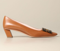 Belle Vivier Leder Pumps