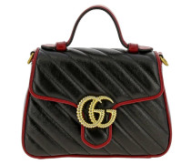 Gg Marmont Mini-tasche aus Gestepptem Leder