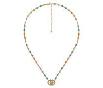 Schmuck Running Gg Halskette 42 Cm in Gold und Multicolor Topas