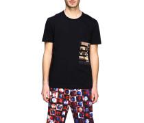 T-shirt mit Rundhalsausschnitt und Aufdruck