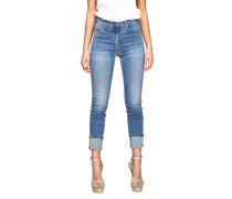 Jeans Slim Fit High Waisted