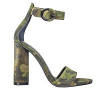 Sandalen mit Absatz Flache Damen