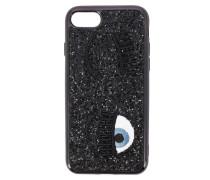 7/8 Iphone Cover Eyes Flirting Glitter