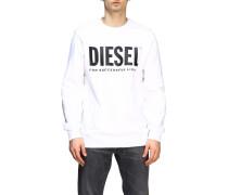 Sweatshirt mit Rundhalsausschnitt und Logo-print