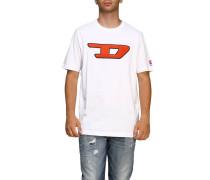T-shirt mit Maxi Logo