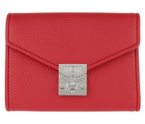 Portemonnaie Patricia Park Avenue Flap Wallet Ruby Red rot