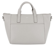 Grano Colorblocking Helena Handbag Light Grey Tote
