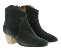 Boots Dicker Ankle Boots Faded Black blau