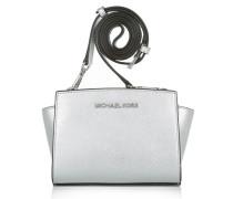 Selma Mini Messenger Silver Umhängetasche