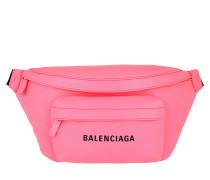Gürteltasche Everyday Logo Belt Pack Leather Acid Pink rosa