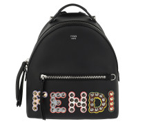 Mini Backpack Studded Black Rucksack