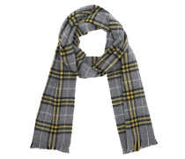Check Scarf Cashmere Grey/Yellow Accessoire