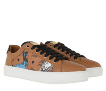 Sneakers Hide And Seek Rabbit Cognac