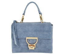Umhängetasche Arlettis Suede Crossbody Bag Small Cosmic Lilac blau