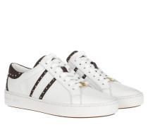 Sneakers Keaton Stripe Sneaker Optic White/Brown weiß