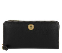 Millbrook Wallet Pebbled Black/Truffle