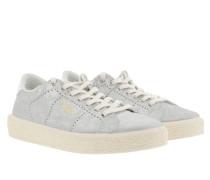 Sneakers Tennis Sneaker Silver silber