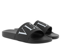 VLTN Logo Sandals Black/White Schuhe