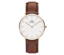 Uhr Classic St Mawes 36 mm Brown