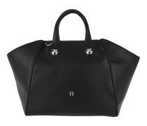 Crush M Handbag Black Satchel Bag