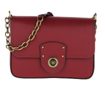 Millbrook Crossbody Bag Smooth Leather Red Tasche