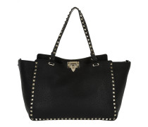 Rockstud Shopping Bag Nero Shopper