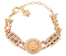 Schmuck Medusa Bracelet Crystal/Oro gold