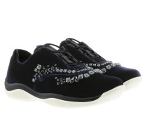 X Sneakers Bijou Nylon Blue Sneakers